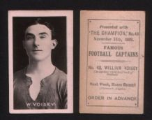 1922 photo trade / cigarette card football Millwall